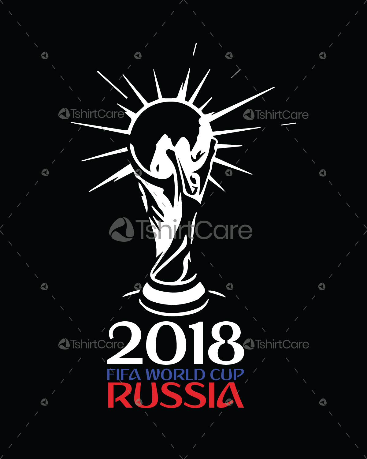 World Cup 2018 Logo Font