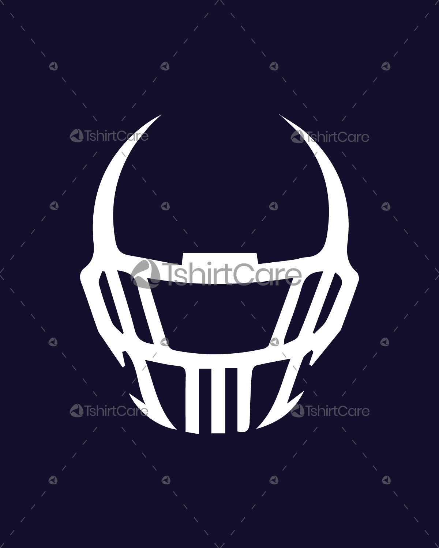 American football helmet t shirt design sports t shirt for Football team t shirt designs