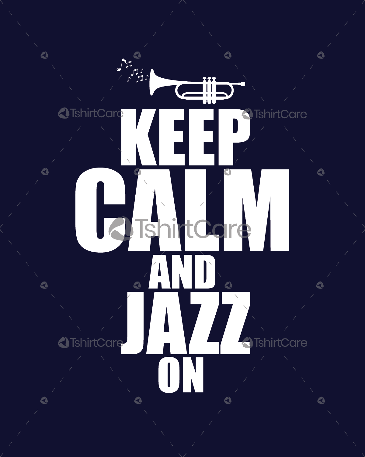 Keep Calm And Jazz On T Shirt Design For Music T Shirts Design For