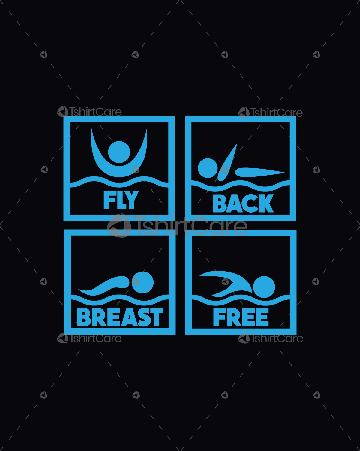 a53f3ff6 Fly back breast free Swimming T Shirt Design For Youths, Women's & Men's Funny  Swimmer Tee Shirts Gift - TshirtCare