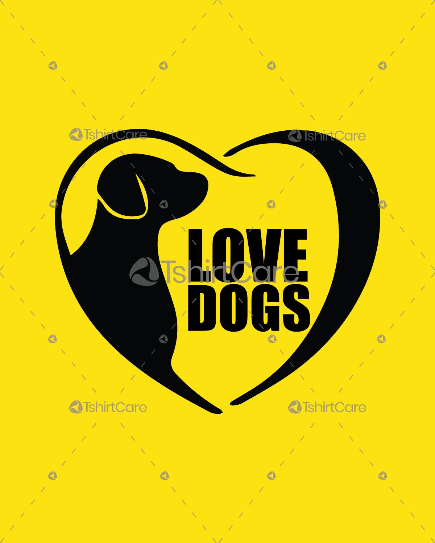 d2ed4c567e44 I love dogs T shirts & Hoodies Design for Dog Lover Men's, Women's & Kids -  TshirtCare