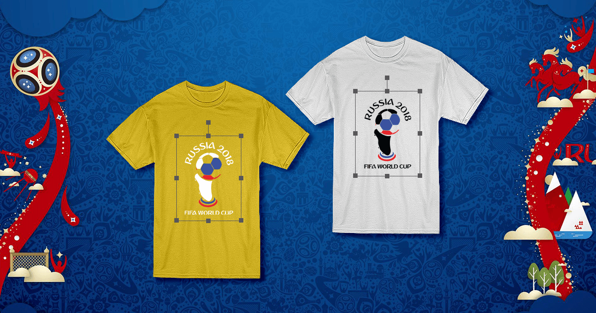 FIFA World Cup 2018 Russia jersey & t shirt design for ...